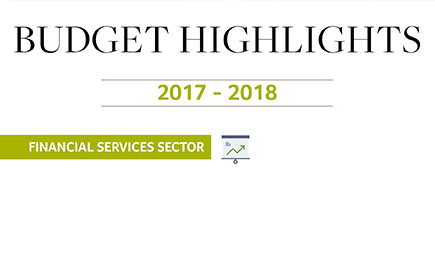 Financial Services Sector: 2017 – 2018