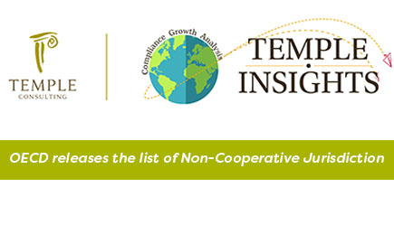 OECD Releases The List Of Non-Cooperative Jurisdiction