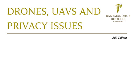 Drones, UAVs And Privacy Issues